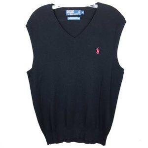 Polo by Ralph Lauren Pima Cotton Sweater Vest M